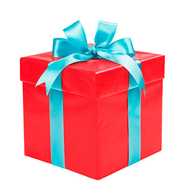 подарок коробка фото