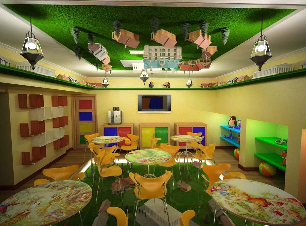 Дизайн кафе детского