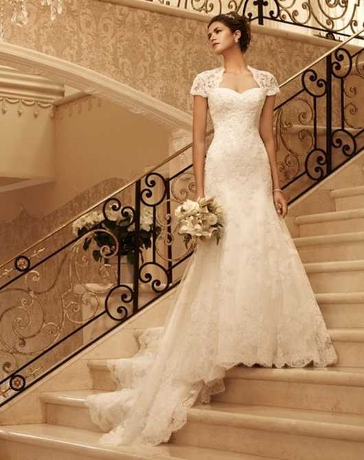 К чему испачкать свадебное платье
