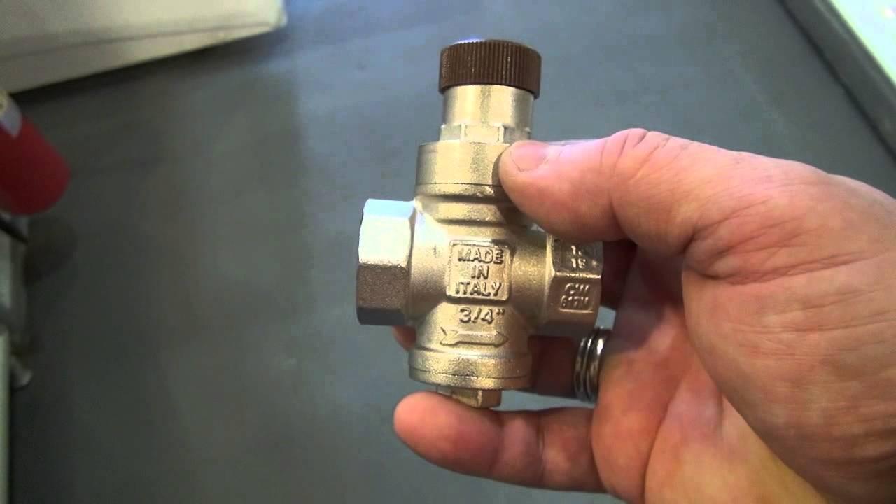 Клапан давления для воды своими руками